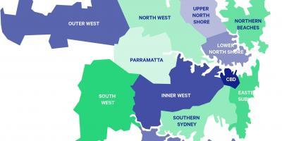 Sydney map - Maps Sydney (Australia)